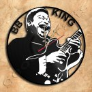 BB King Wall Clock Vinyl Record Clock