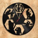 Dream Theater Wall Clock Vinyl Record Clock