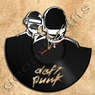 Daft Punk Wall Clock Vinyl Record Clock