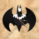 Batman No2 Vinyl Record Clock Wall Clock