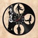 Charlie Chaplin Vinyl Record Clock Wall Clock Handmade