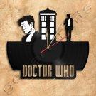 Wall Clock Doctor Who Vinyl Record Clock Handmade