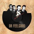 Dr.Feelgood Wall Clock Doors Vinyl Record Clock Handmade