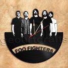 Foo Fighters Wall Clock Vinyl Record Clock Handmade