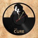 Robert Smith Cure Wall Clock Vinyl Record Clock Handmade
