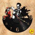 Joker Wall Clock Vinyl Record Clock