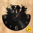 Ninja Turtles Wall Clock Vinyl Record Clock