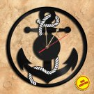 Anker Wall Clock Vinyl Record Clock Handmade