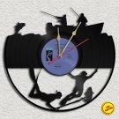Fishing Vinyl Record Clock Wall Clock