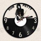 Tom Petty Wall Clock Vinyl Record Clock Upcycled Gift Idea