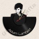 Adam Lambert Wall Clock Vinyl Record Clock home decoration housewares Upcycled G