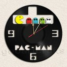 Pacman Wall Clock  Vinyl Record Clock home decoration