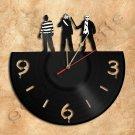 Horror Wall Clock Vinyl Record Clock Upcycled Gift Idea