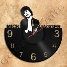 Mick Jagger Wall Clock Vinyl Record Clock home decoration