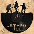 Wall Clock Jethro Tull Vinyl Record Clock Upcycled Gift Idea