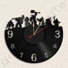 Warcraft Wall Clock Vinyl Record Clock Upcycled Gift Idea