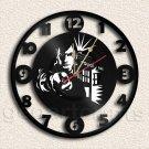Wall Clock Doctor Who Vinyl Record Clock Upcycled Gift Idea