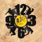 Wall Clock Spiderman Vinyl Record Clock Upcycled Gift Idea