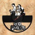 Sex Pistols Wall Clock Vinyl Record Clock home decoration