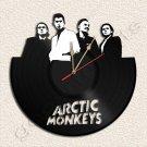 Arctic Monkeys Wall Clock Vinyl Record Clock Upcycled Gift Idea