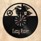 Wall Clock Easy Rider Vinyl Record Clock Upcycled Gift Idea