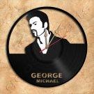 Wall Clock George Michael Vinyl Record Clock Upcycled Gift Idea