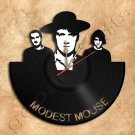 Modest Mouse Wall Clock Vinyl Record Clock Upcycled Gift Idea