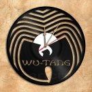 Wu-Tang Clan Wall Clock Vinyl Record Clock Upcycled Gift Idea