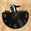 Rod Stewart Wall Clock Vinyl Record Clock Upcycled Gift Idea