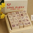 STAMP SET WITH BOX