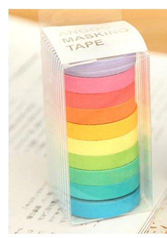 10pcs/1 box paper masking tape