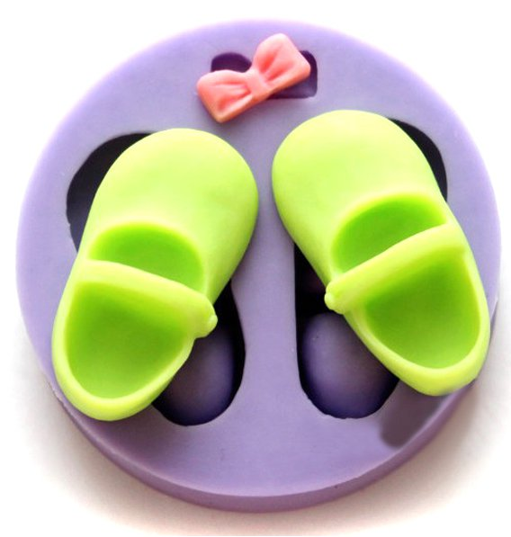 shoes cake soap silicone mold