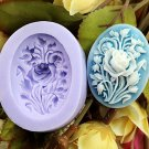 flower cake soap silicone mold
