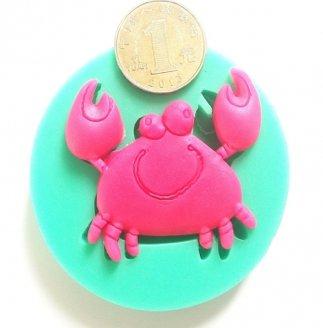 crab shape soap cake silicone mould