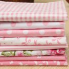 8 Pieces patterned Fabric 82