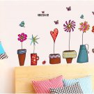 flower children home wall sticker