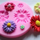 flower fashion silicon mould f235