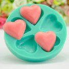 heart fashion silicon mould