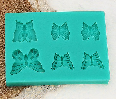 butterfly fashion silicon mould