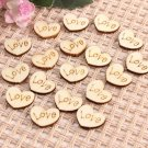 50pcs love hearts scrapbooking