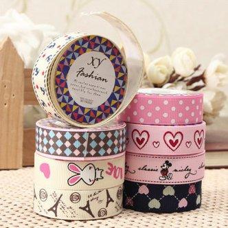2 rolls fabric ribbon tape