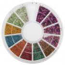 1 box wheel nail art decoration