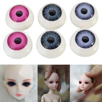 10 pairs bear DIY doll plastic eye