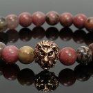 LION Head beads bracelet