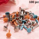 100pcs metal snaps