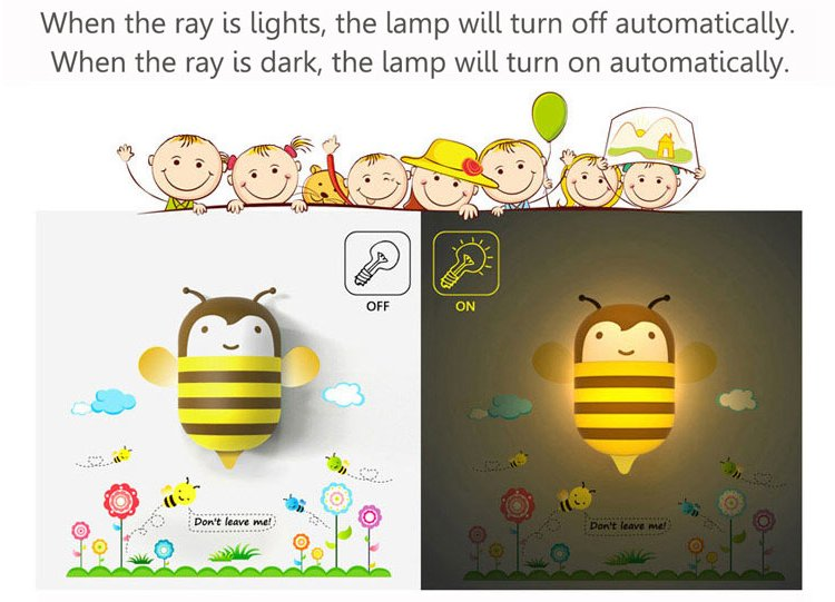 wall lamp and sticker children 345