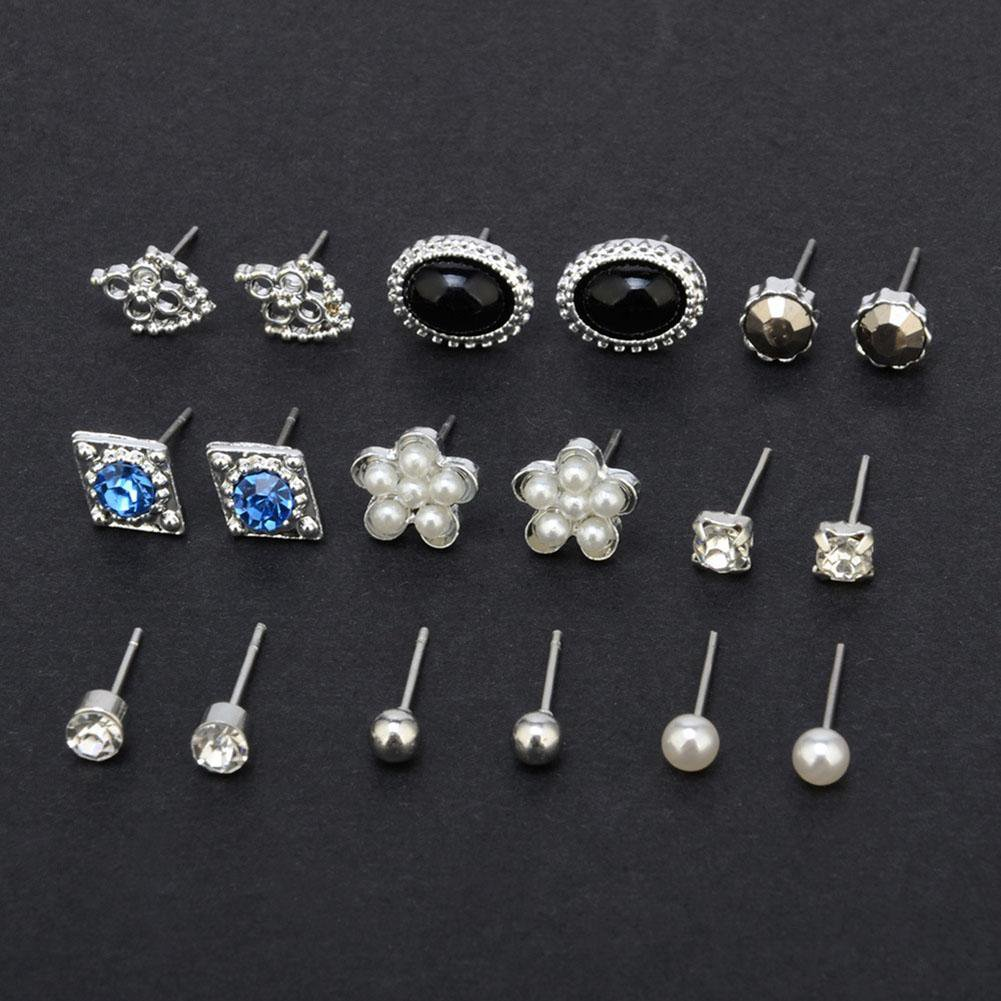 9 pairs earrings