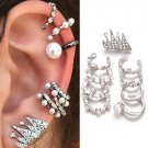 9pcs earrings