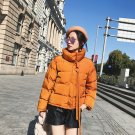 women soft warm short coat