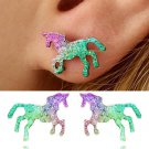colorful fashion earring